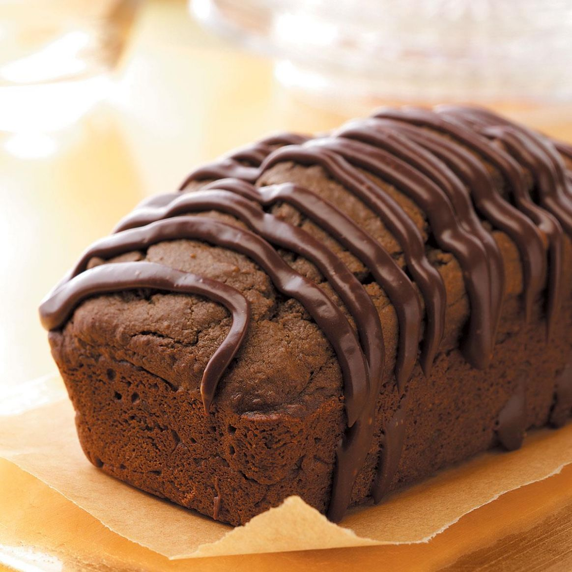 Triple-Chocolate Quick Bread - Recipe Chocolate Quick Bread