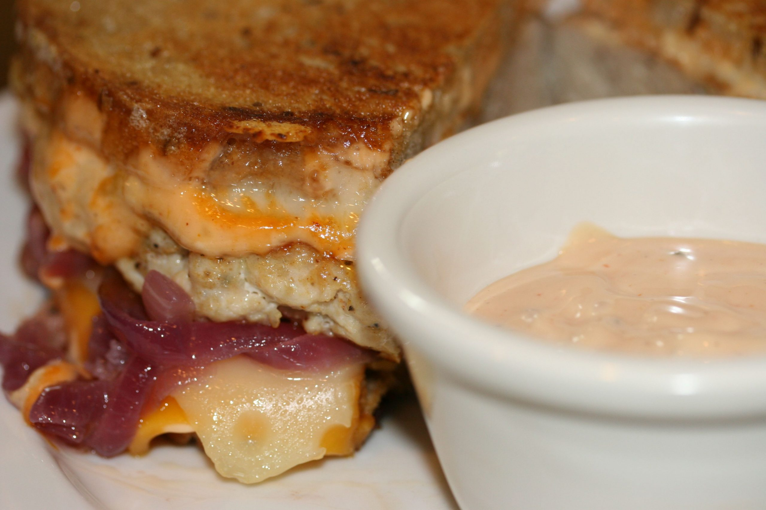 Turkey Melt with Thousand Island Dressing adapted from Pat Neely ...