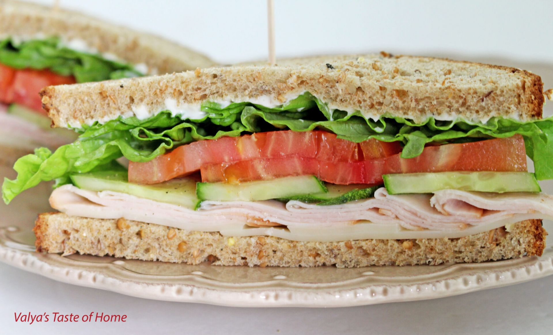 Turkey Sandwich Recipe - Sandwich Recipes Turkey