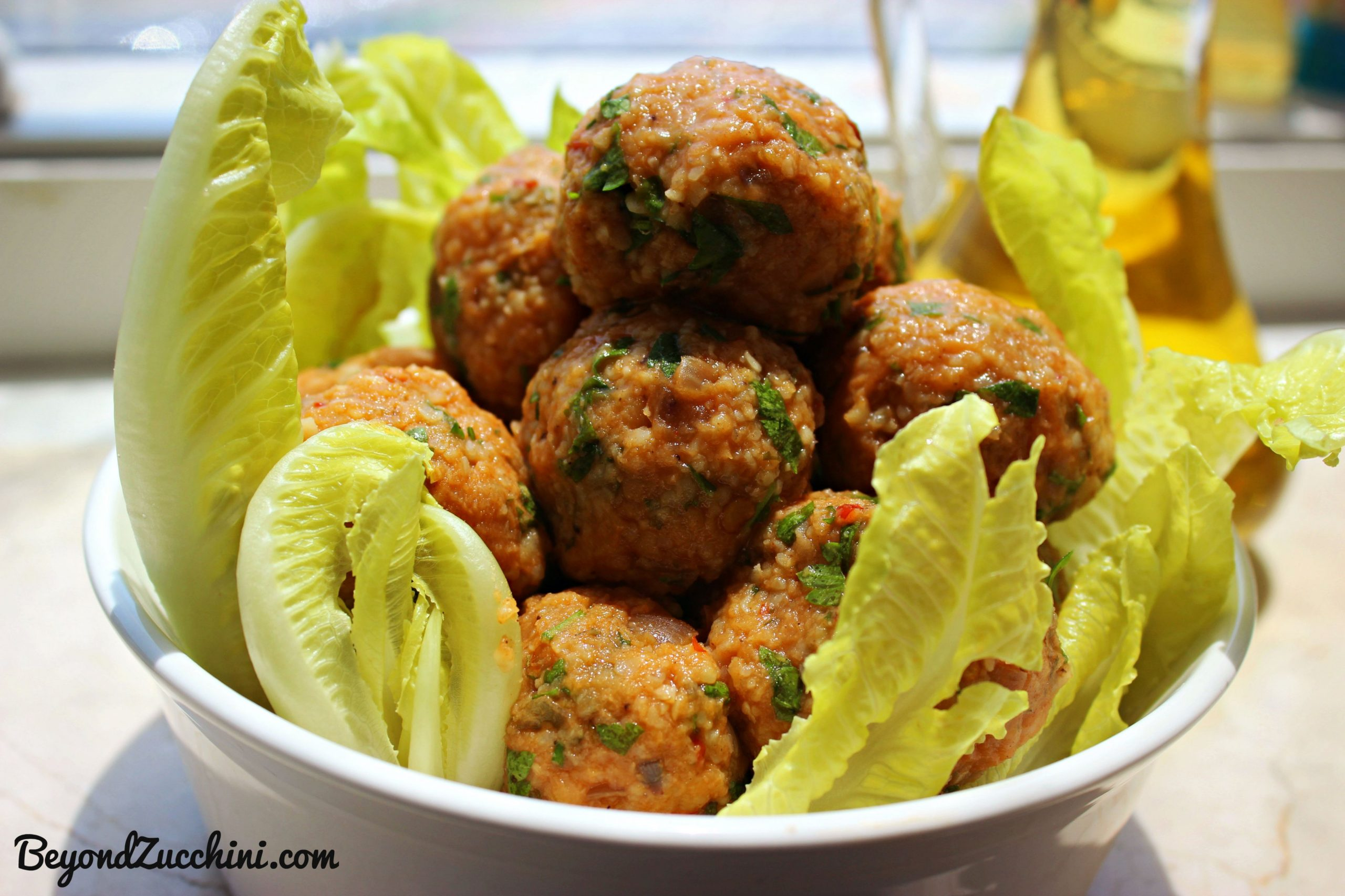 Turkish Lentil Kofta Balls (Vegan) | Beyond Zucchini