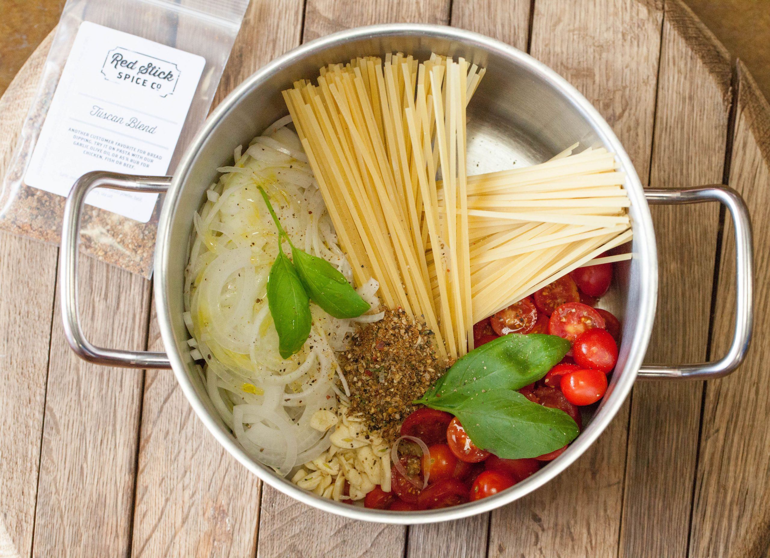 Tuscan One Pot Pasta