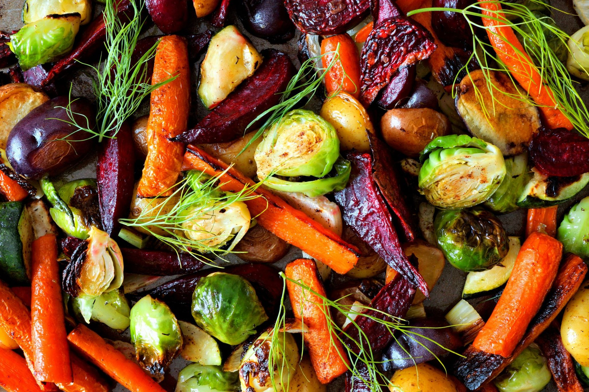 Ultimate Roasted Vegetable Medley from 'The Chew'
