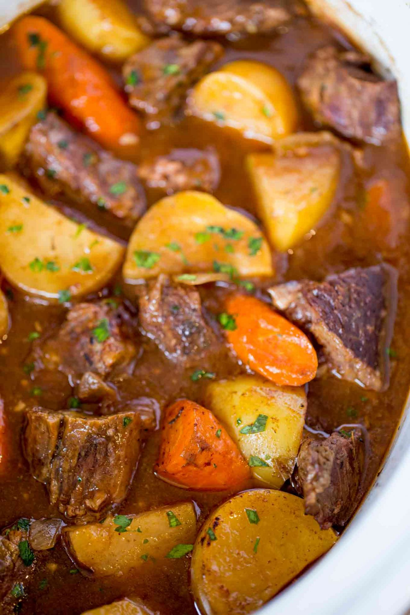 Ultimate Slow Cooker Beef Stew - Recipes For Beef