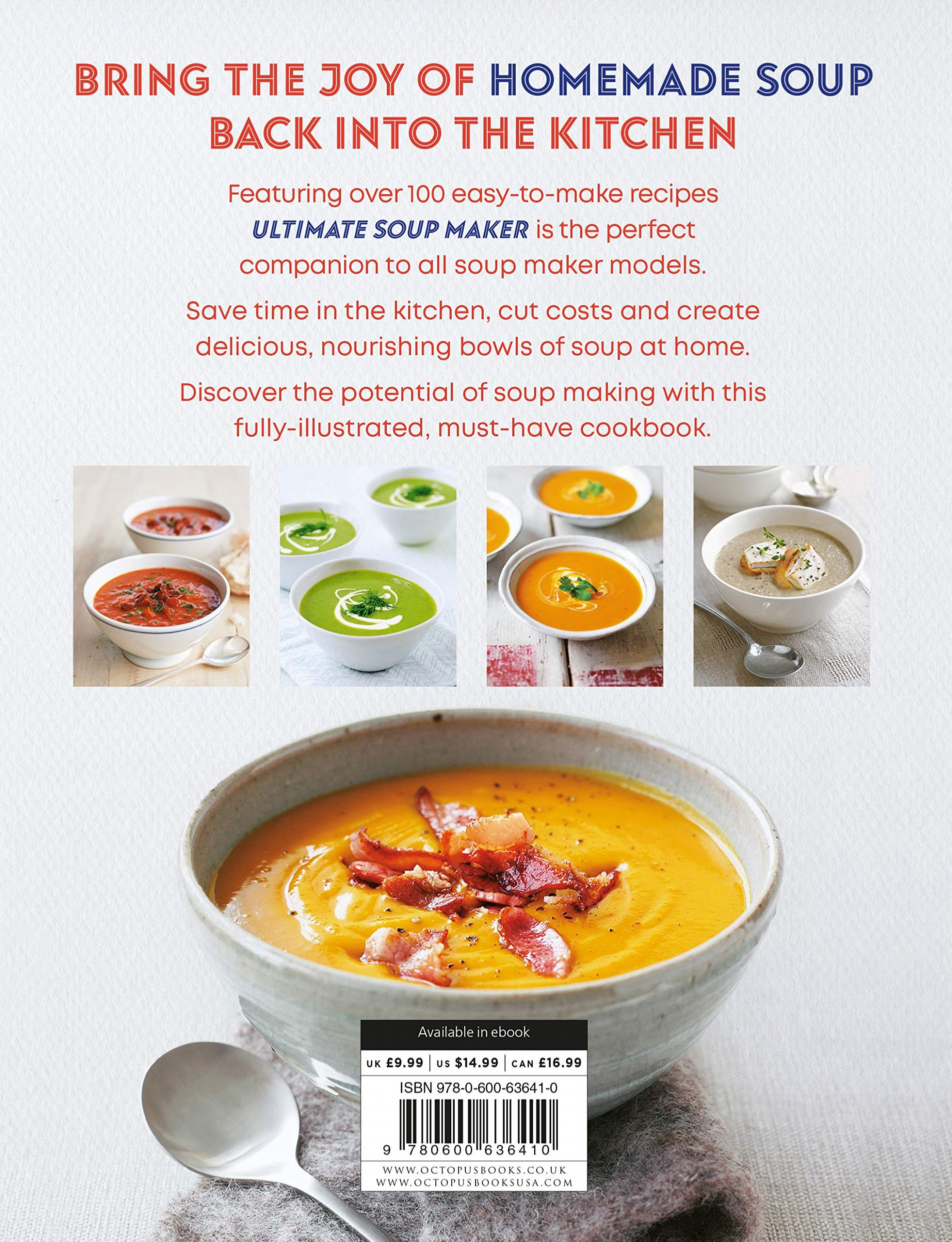 Ultimate Soup Maker: More than 9 simple, nutritious recipes ...