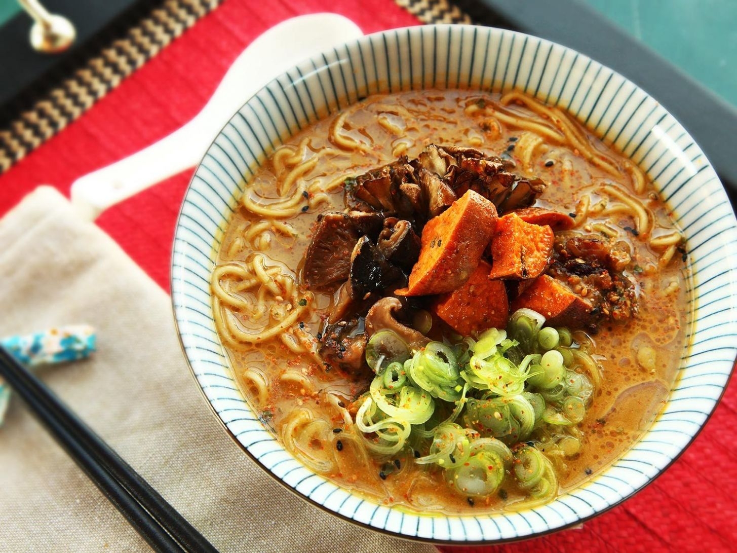 Ultimate Vegan Ramen Recipe with Miso Broth