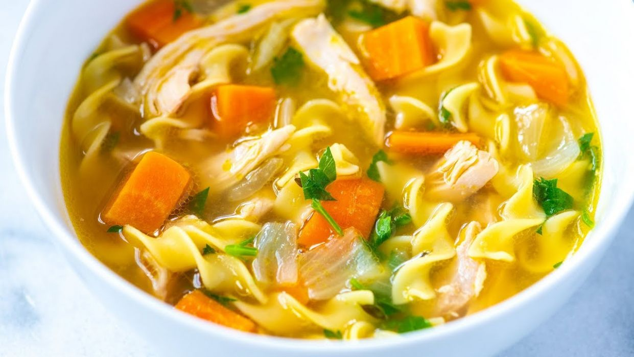 Ultra-Satisfying Homemade Chicken Noodle Soup - Recipes Chicken Broth