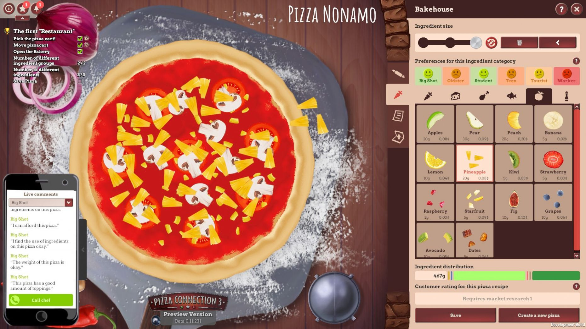 Unexpected inheritance | Main missions in Pizza Connection 11 ..