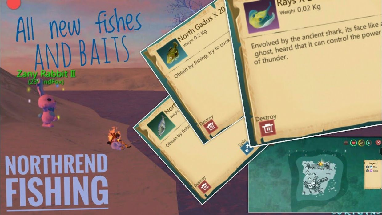 Utopia: Northrend fishing (all new fishes and baits) - YouTube