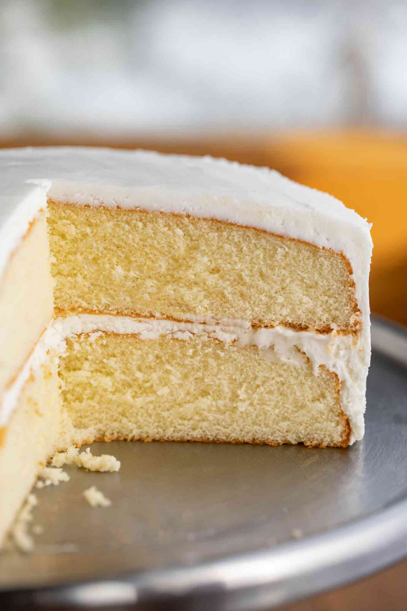 Vanilla Cake - Cake Recipes Low Sugar
