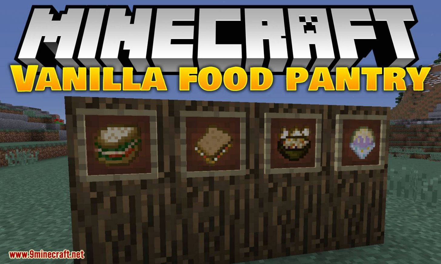 VanillaFoodPantry Mod 8.85.8/8.88.8 (More Recipes, Better Storage ...