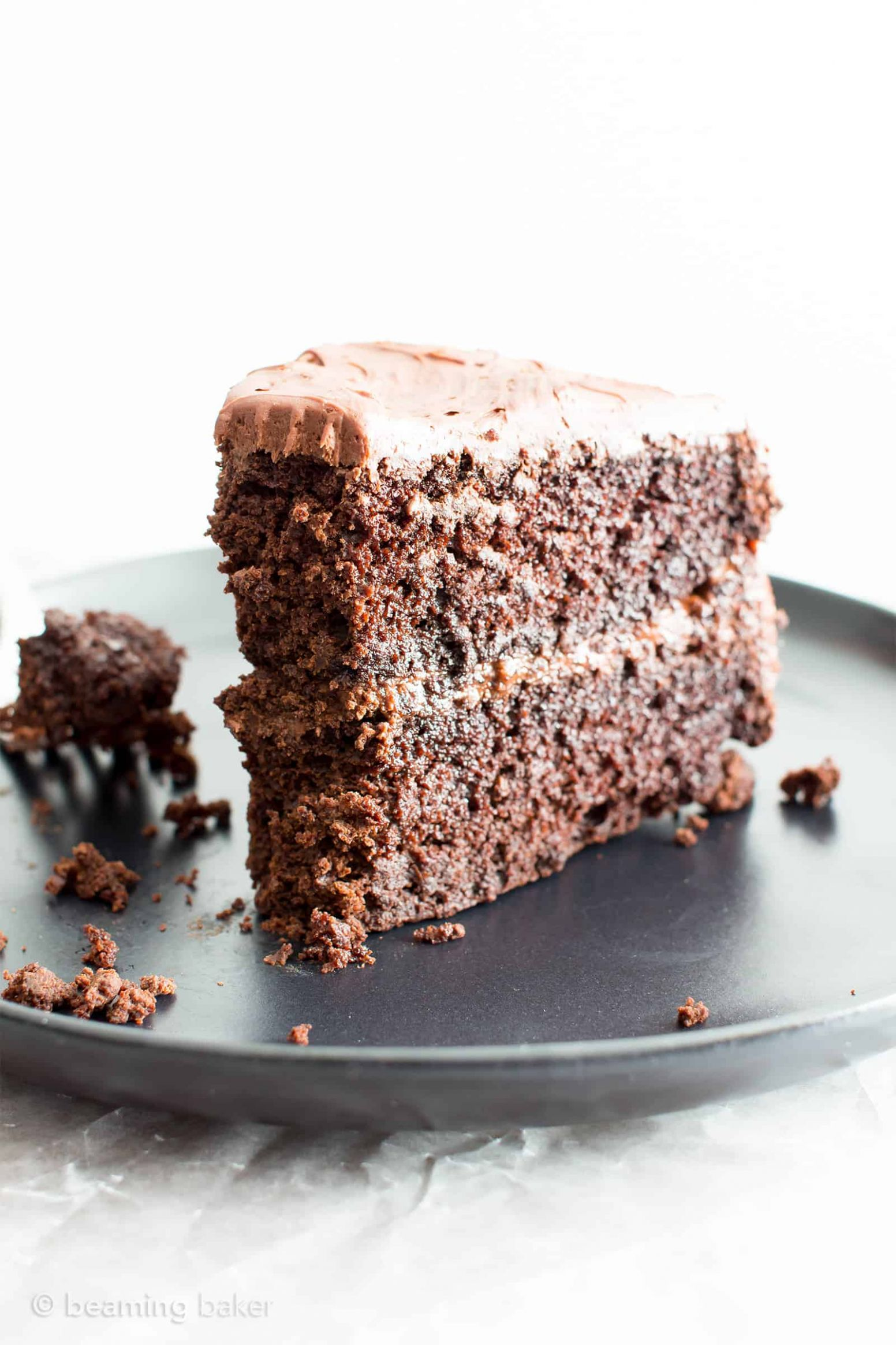 Vegan Gluten Free Chocolate Cake Recipe (Dairy-Free)