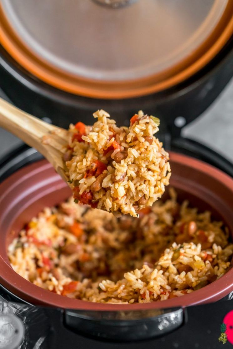 Vegan Spanish Rice and Beans (healthy & oil-free)