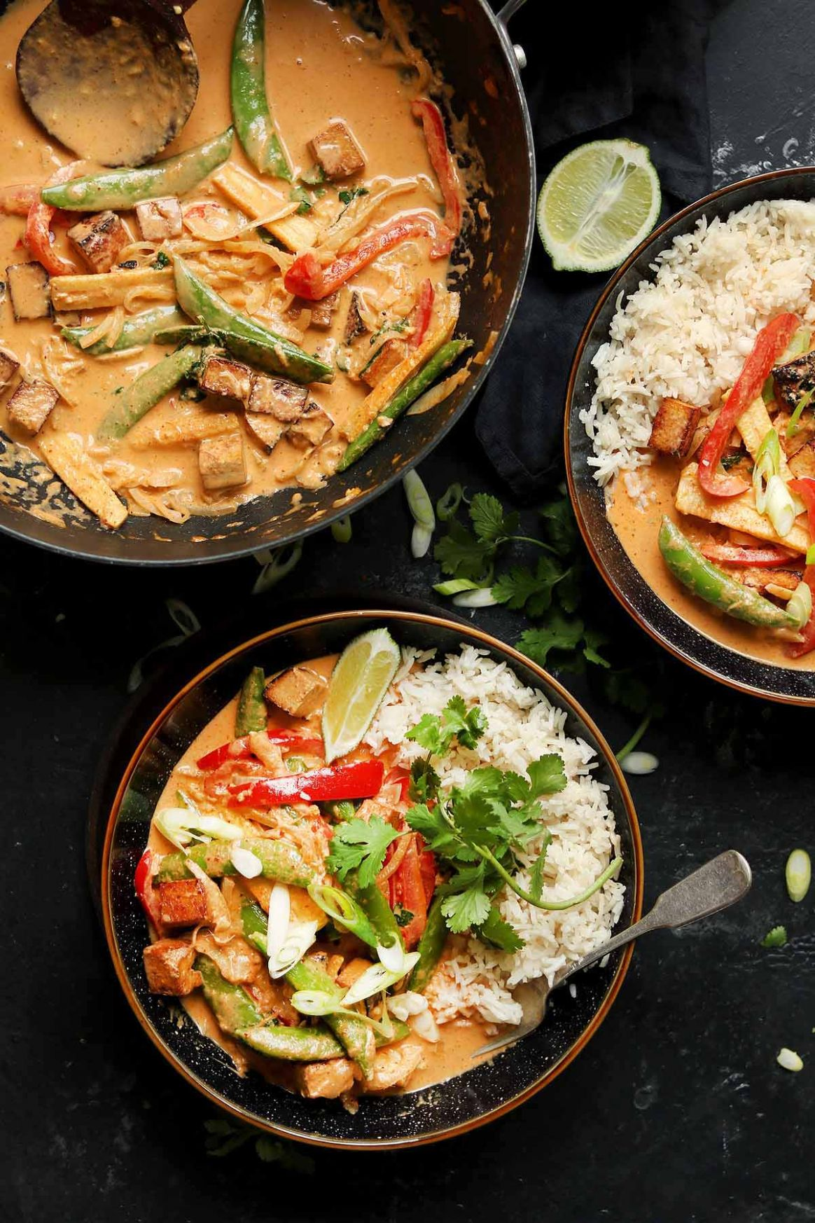Vegan Thai Red Curry - Recipe Vegetarian Red Curry