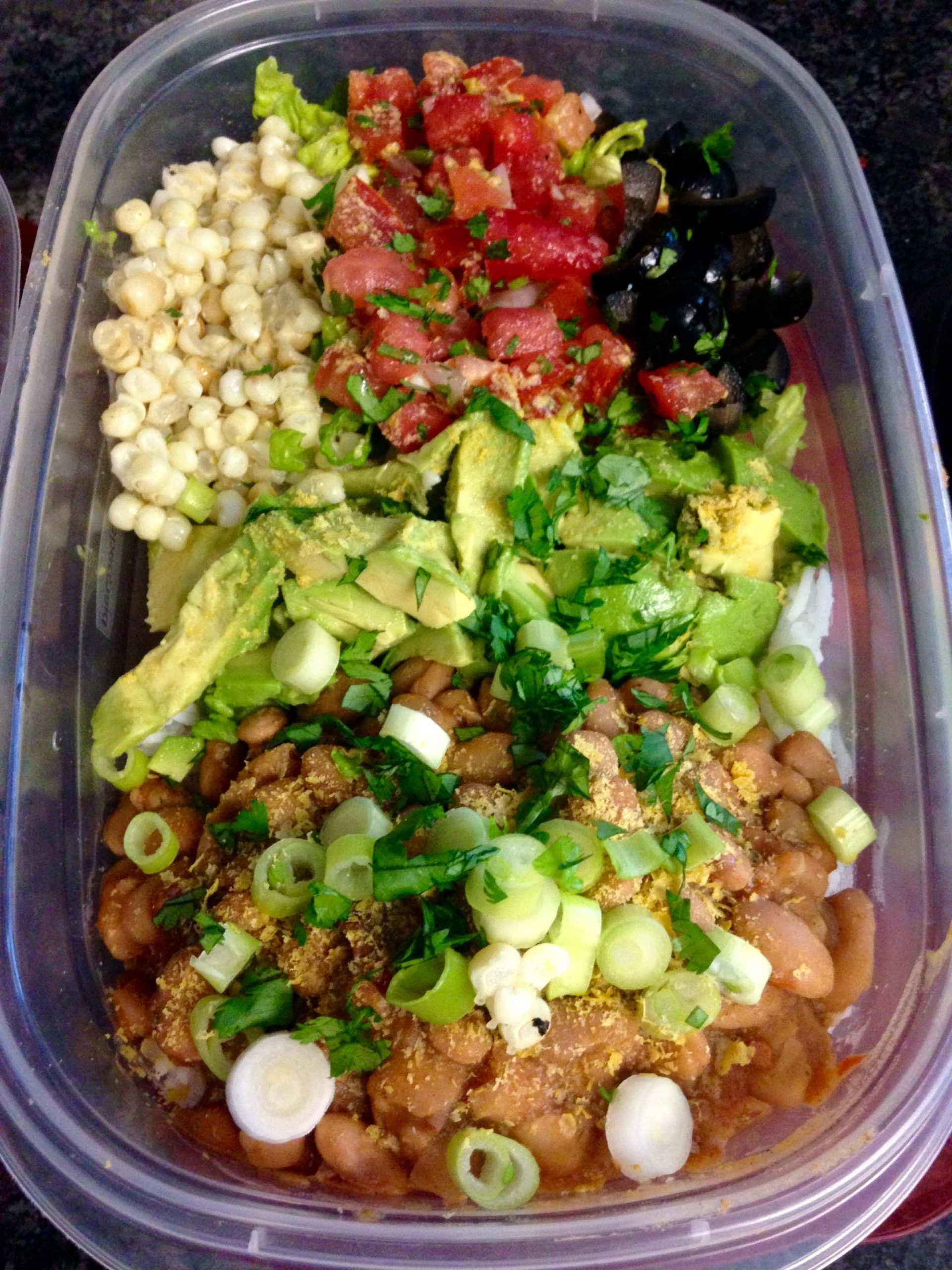 Vegan/Vegetarian burrito bowl meal prep : MealPrepSunday - Recipes Vegan Reddit