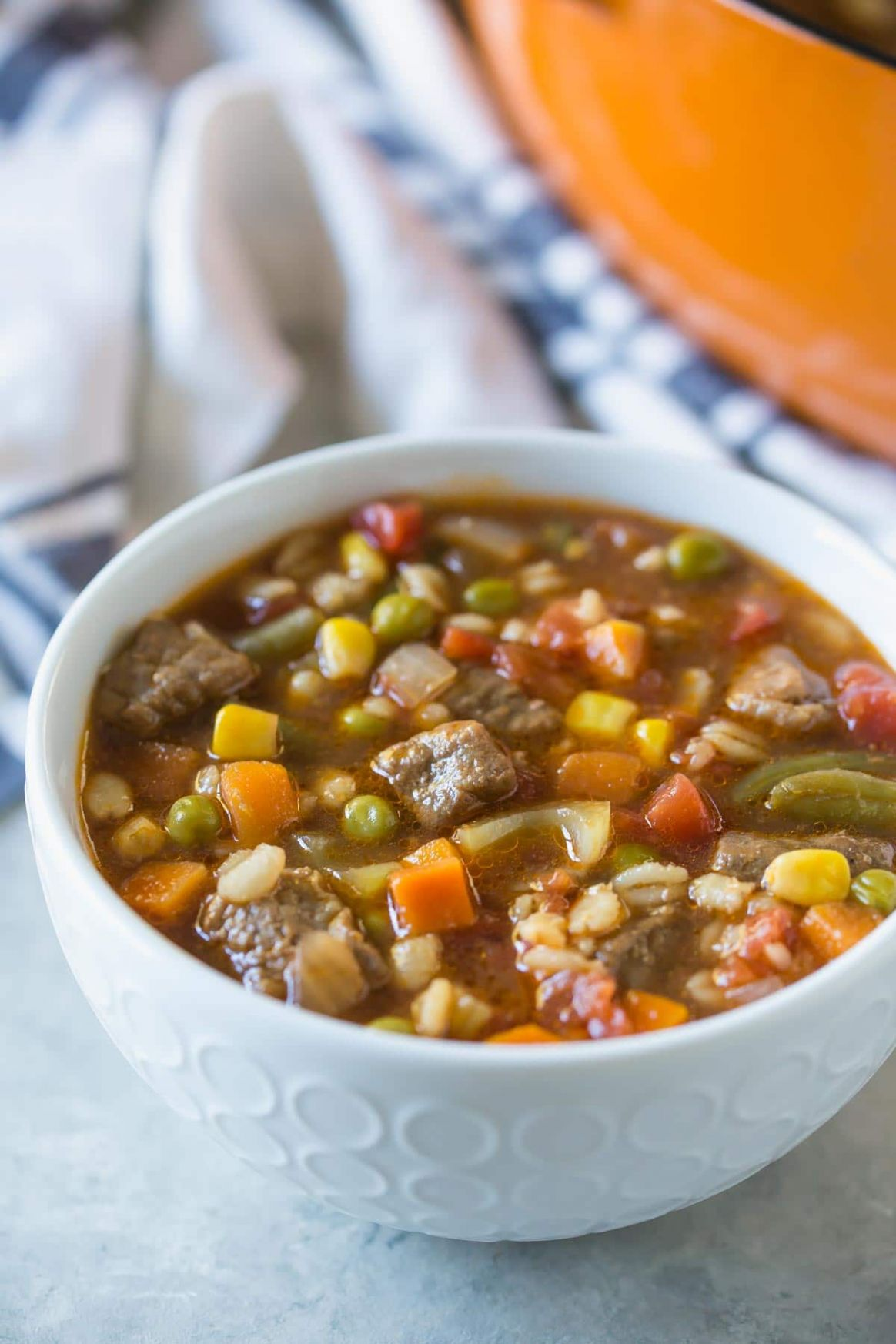 Vegetable Beef Barley Soup - Recipes Beef Barley Soup
