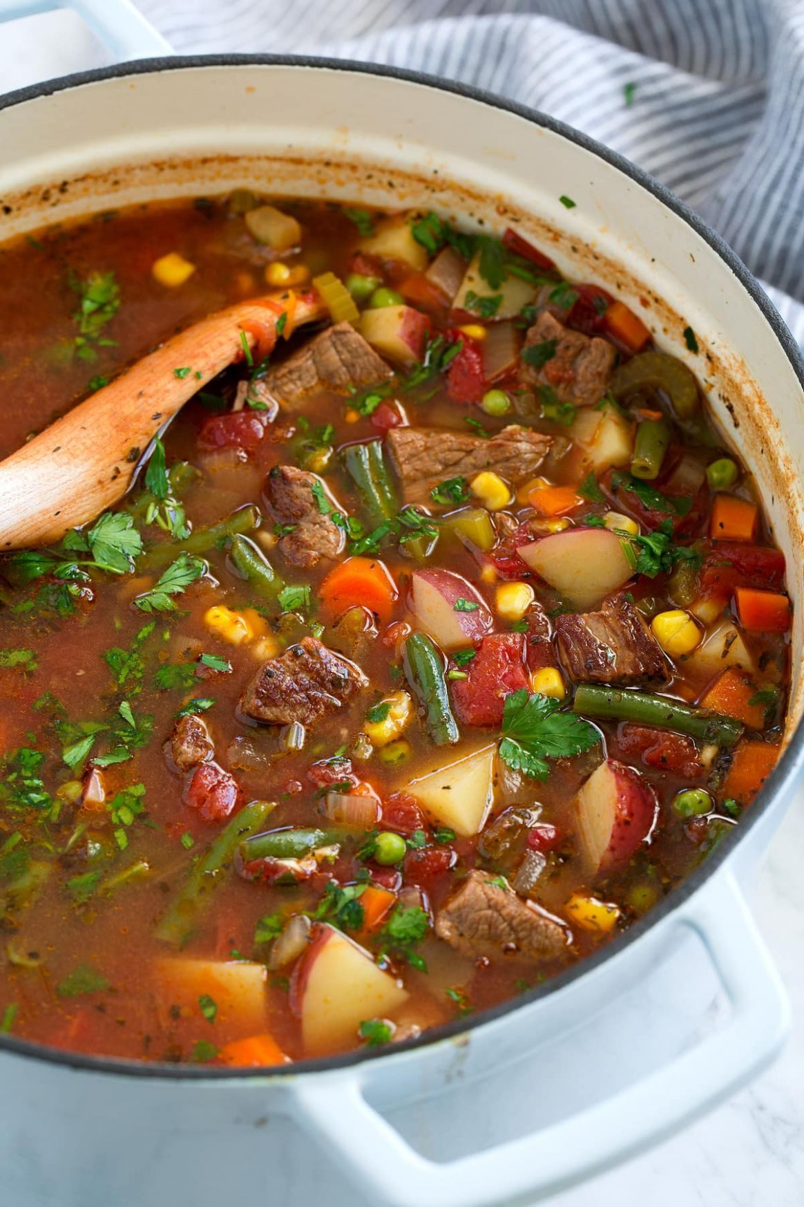 Vegetable Beef Soup - Soup Recipes With Beef