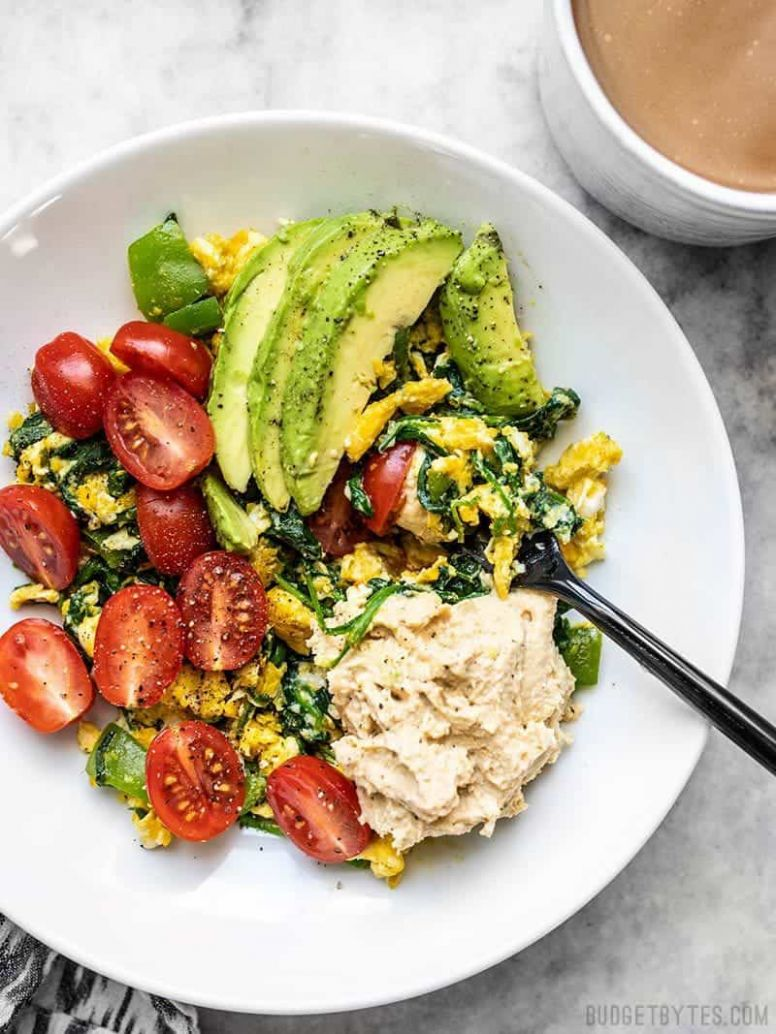 Vegetable Breakfast Scrambles - Budget Bytes