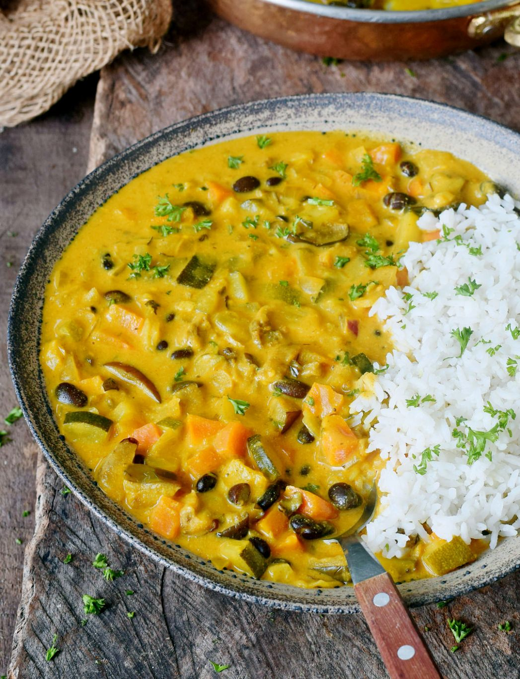 Vegetable curry - Recipes Vegetarian Curry Coconut Milk