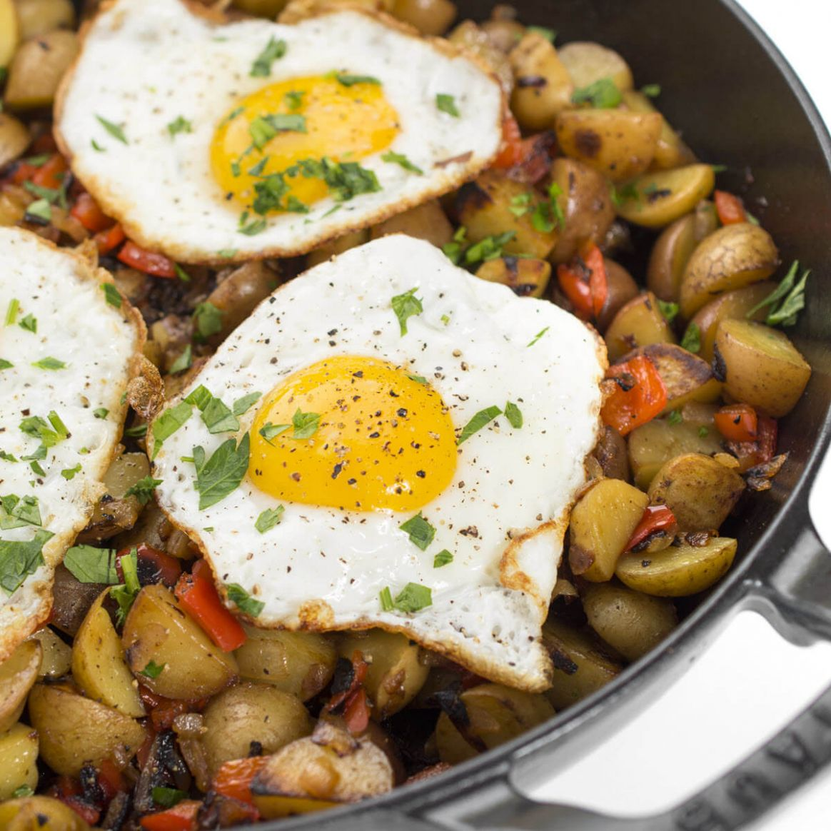 Vegetable Hash Breakfast Skillet - Vegetable Recipes Breakfast