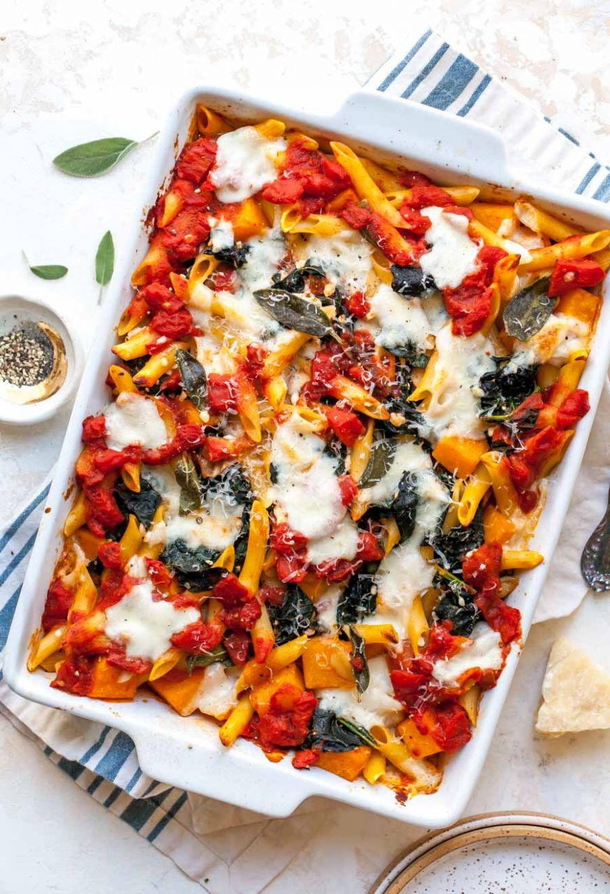Vegetable Pasta Bake - Cooking Zucchini Pasta In Oven