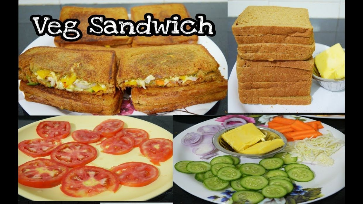 Vegetable Sandwich Recipe in Tamil| How to Make Vegetable Sandwich|Cheese  Slice Veg Sandwich - Sandwich Recipes Tamil