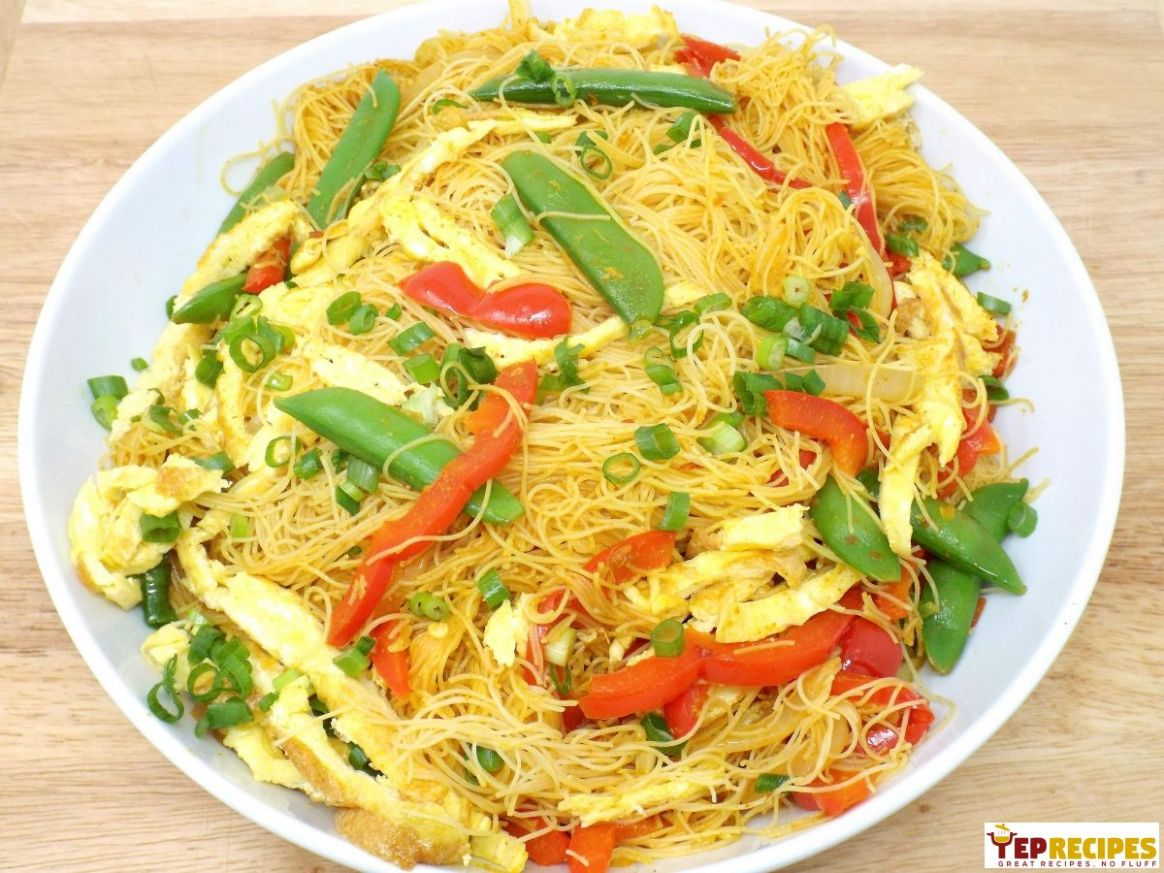 Vegetable Singapore-Style Noodles