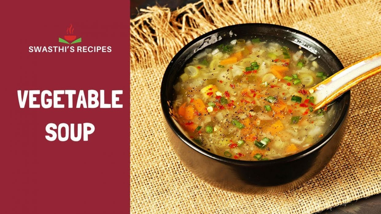 Vegetable soup recipe   How to make vegetable soup - Swasthi's Recipes