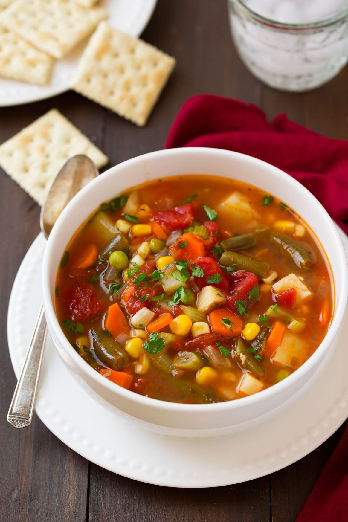 Vegetable Soup - Soup Recipes Vegetarian Easy