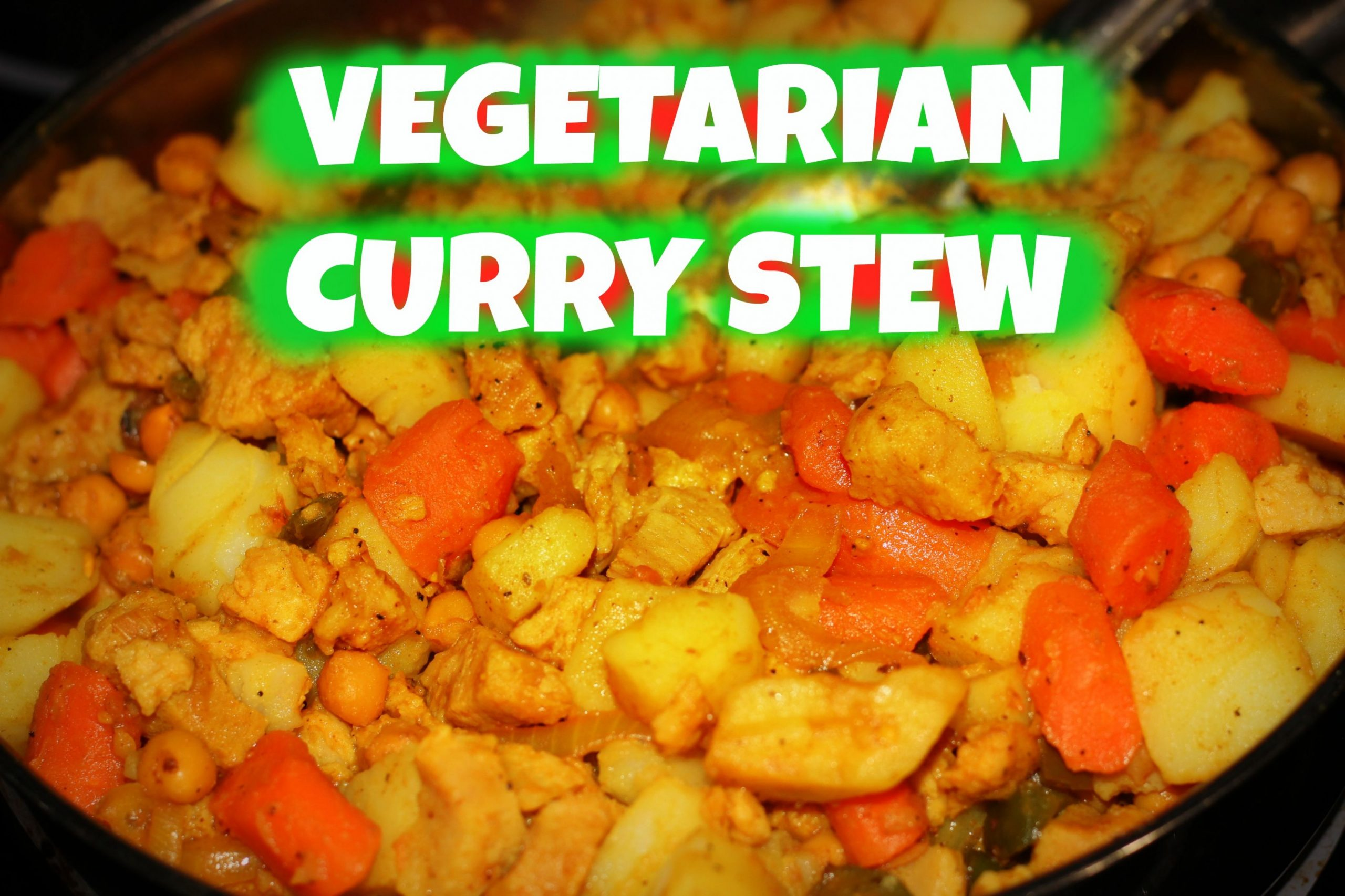 Vegetarian Curry Stew | The Jamaican Mother