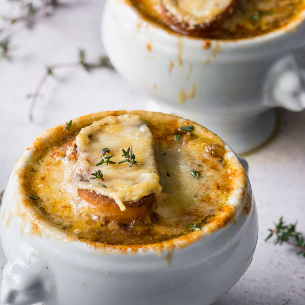 Vegetarian French Onion Soup - Recipe Vegetarian Onion Soup