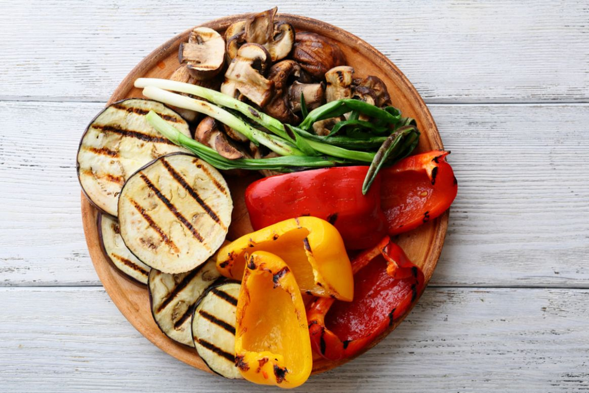 Vegetarian Grilling Recipes for Two - Vegetarian Times - Vegetable Recipes George Foreman Grill