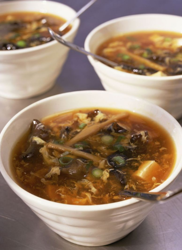 Vegetarian Hot and Sour Soup - Recipe Vegetarian Hot And Sour Soup