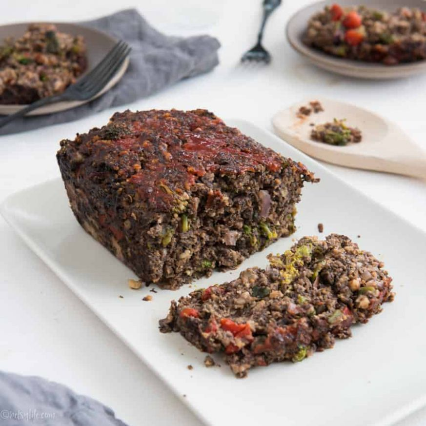 Vegetarian Meatless Meatloaf