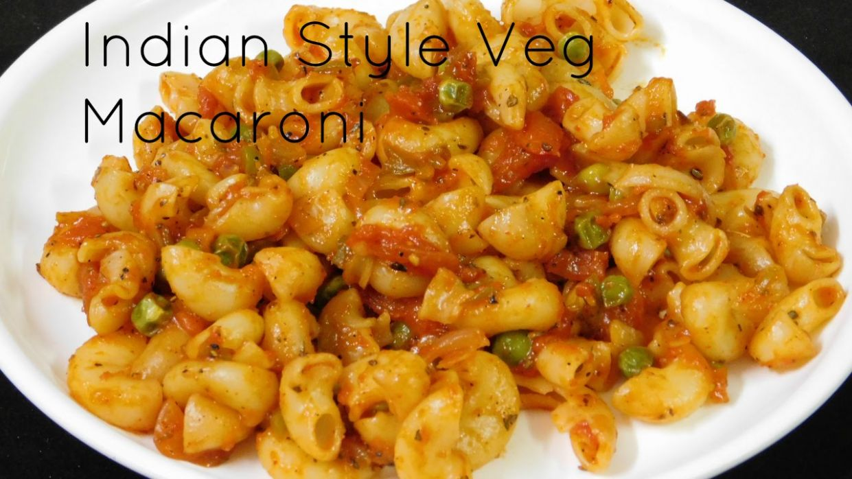 Vegetarian Pasta Recipes, Indian Style Pasta Recipe, Indian Style Macaroni  Pasta Recipes - Pasta Recipes Indian Style