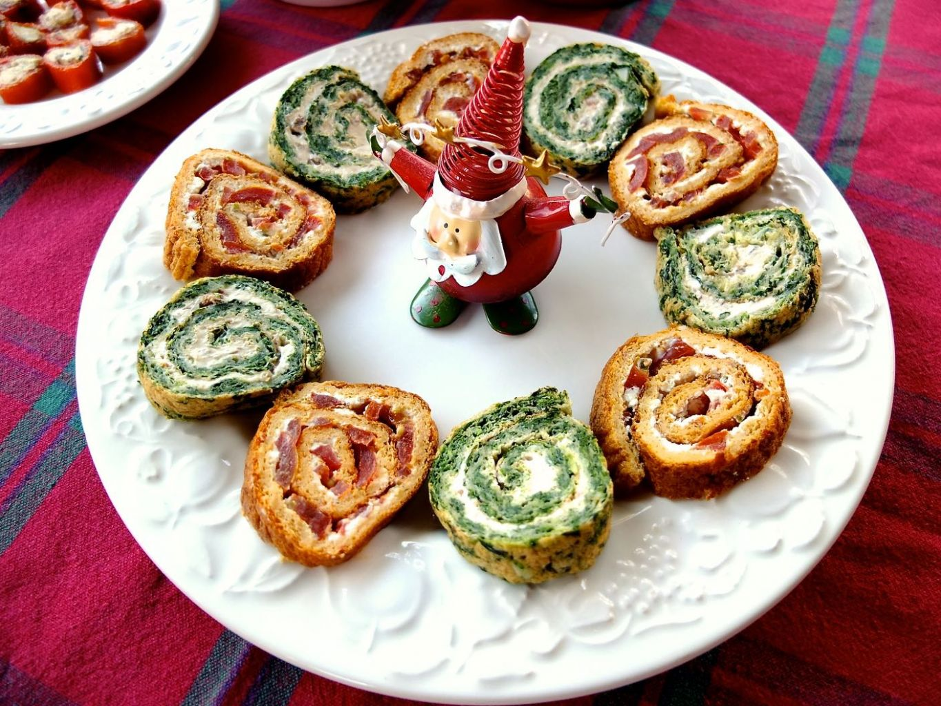 Vegetarian Roulades for Christmas