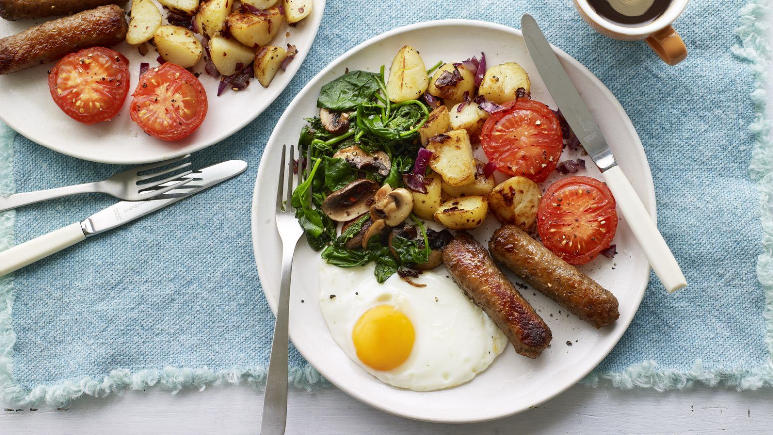 Veggie breakfast fry up