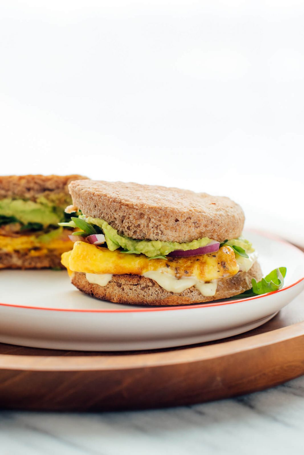 Veggie Breakfast Sandwich