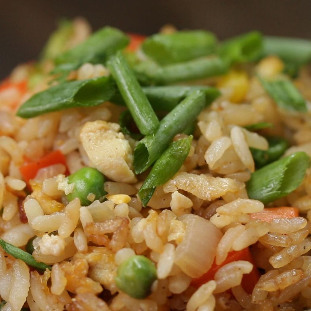 Veggie Fried Rice Recipe by Tasty - Recipes Rice Vegetables