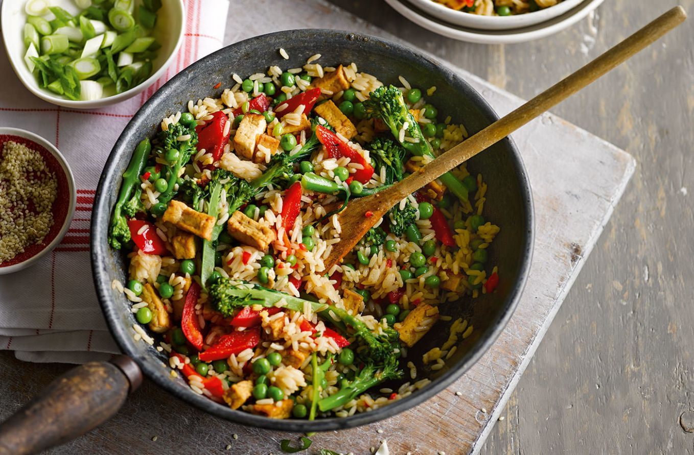 Veggie rice bowl