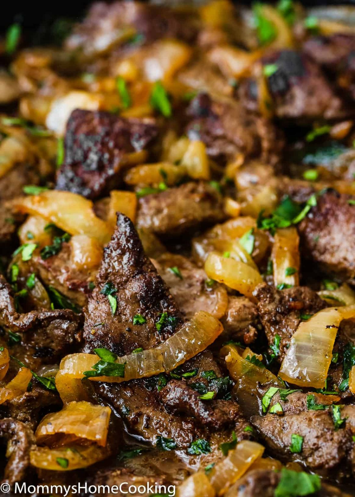 Venezuelan Beef Liver and Onions - Mommy's Home Cooking