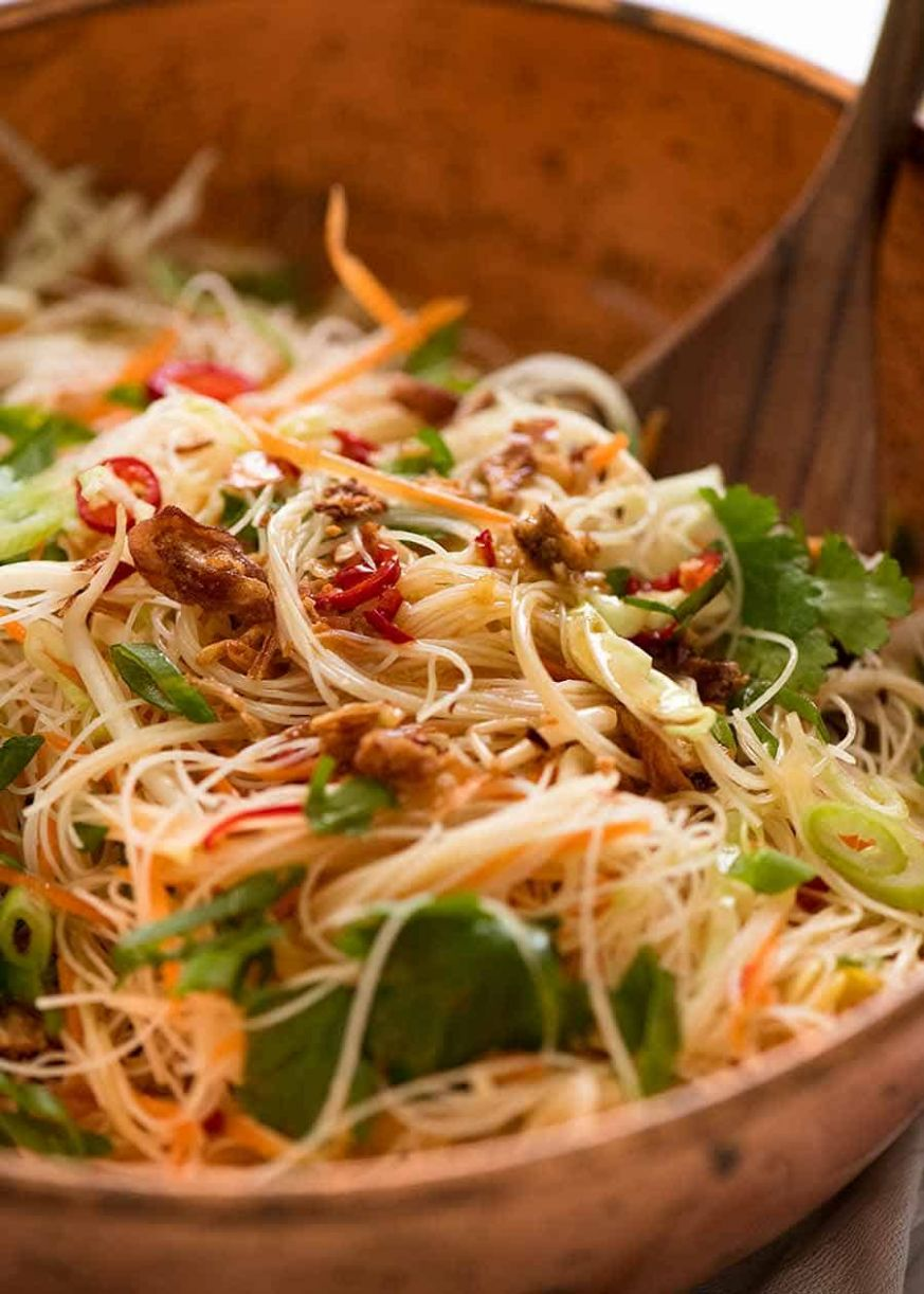 Vermicelli Noodle Salad - Recipes Rice Noodles Cabbage