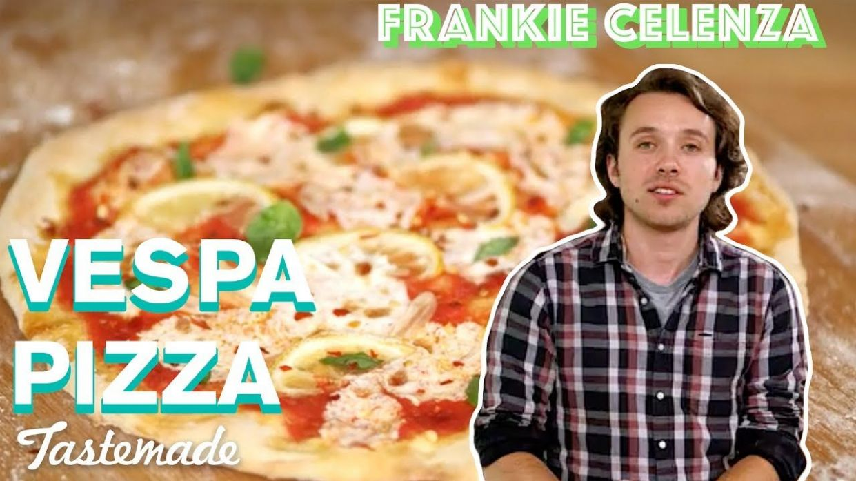 Vespa Pizza | Frankie Celenza - YouTube | Ultimate pizza dough ..