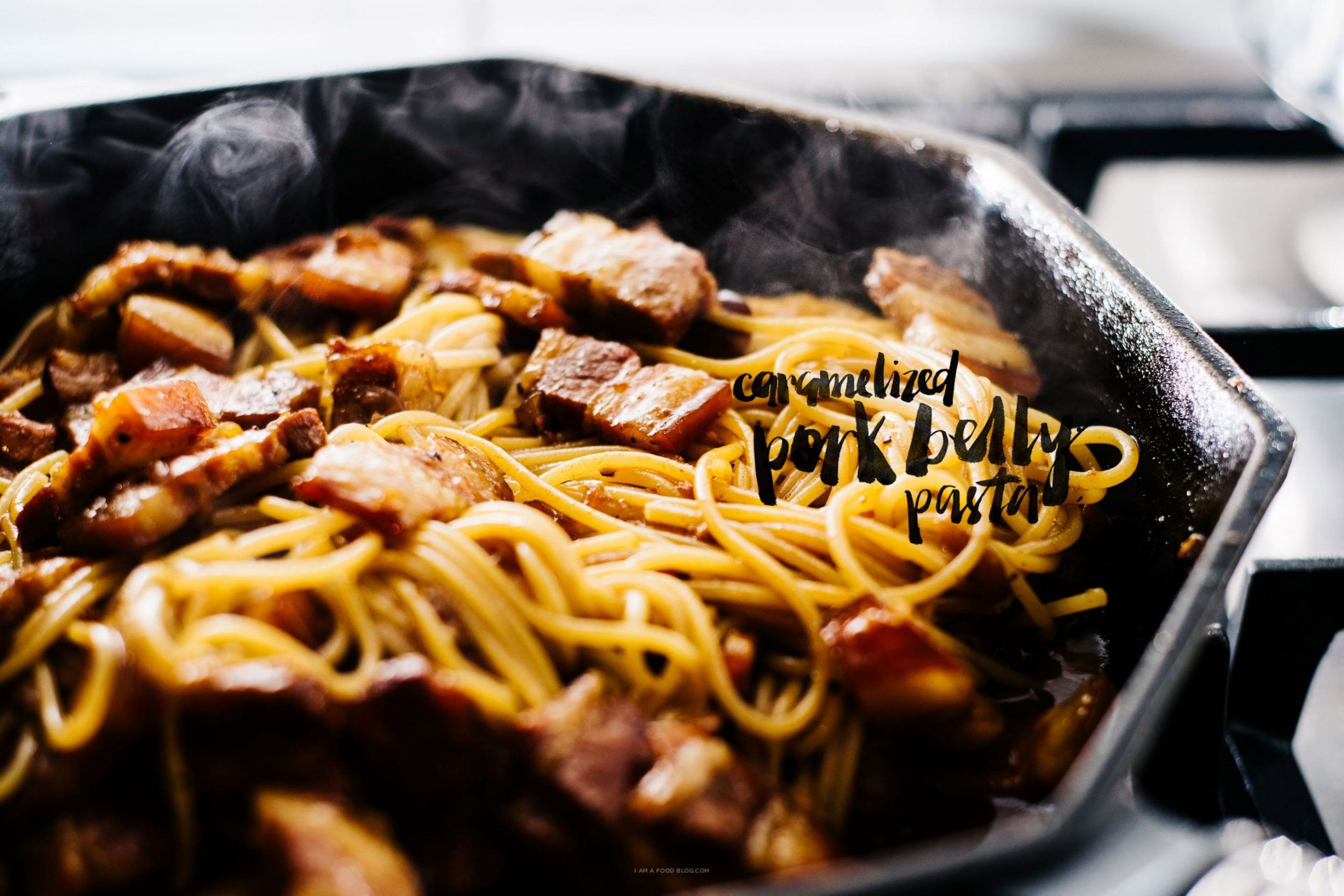 Vietnamese Caramelized Pork Belly Pasta Recipe - Recipe Pork Pasta