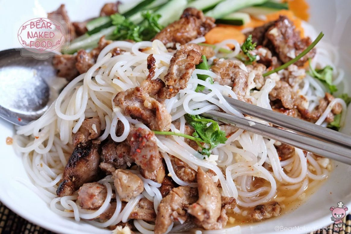 Vietnamese Grilled Pork with Vermicelli