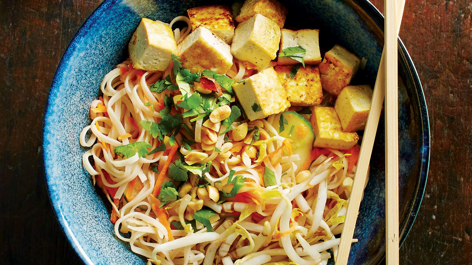 Vietnamese Veggie and Rice Noodle Salad