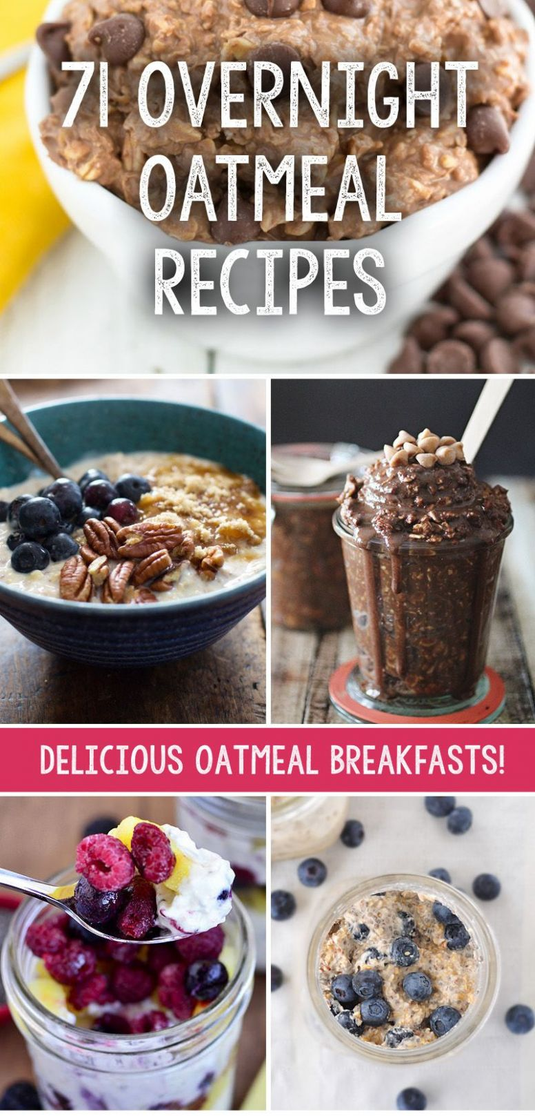 We have collected 11 incredible overnight oatmeal recipes that ..
