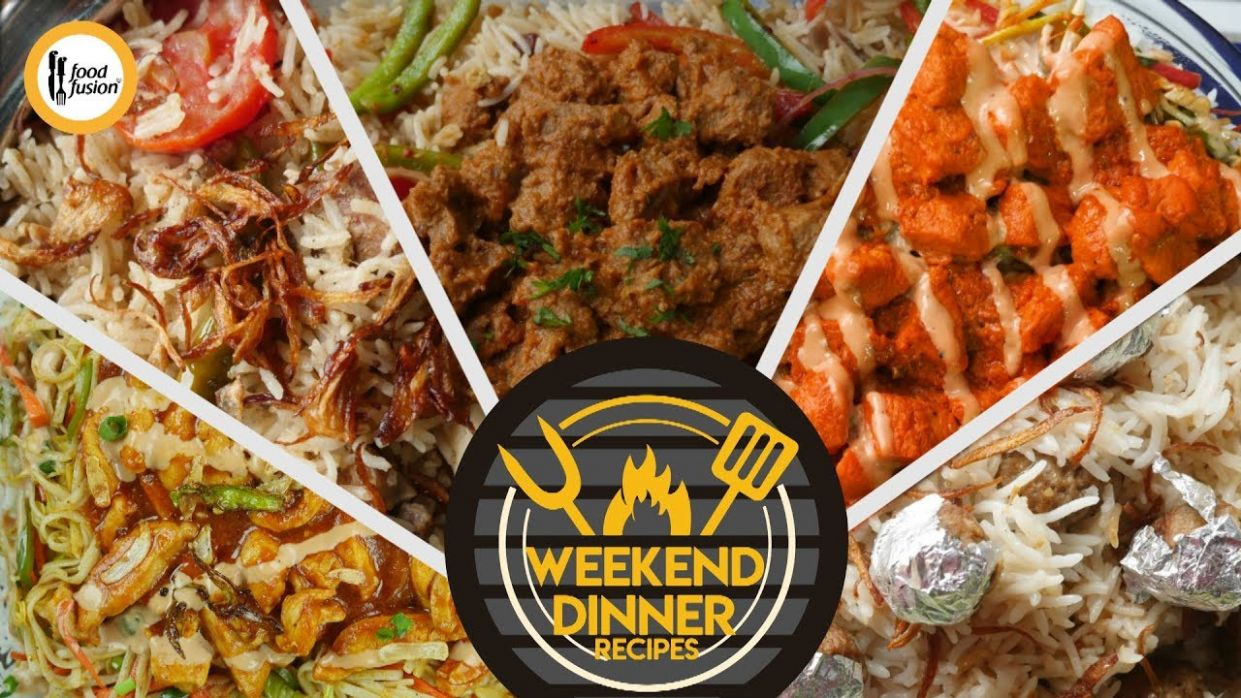 Weekend Dinner Recipes By Food Fusion - Cooking Recipes Youtube Video