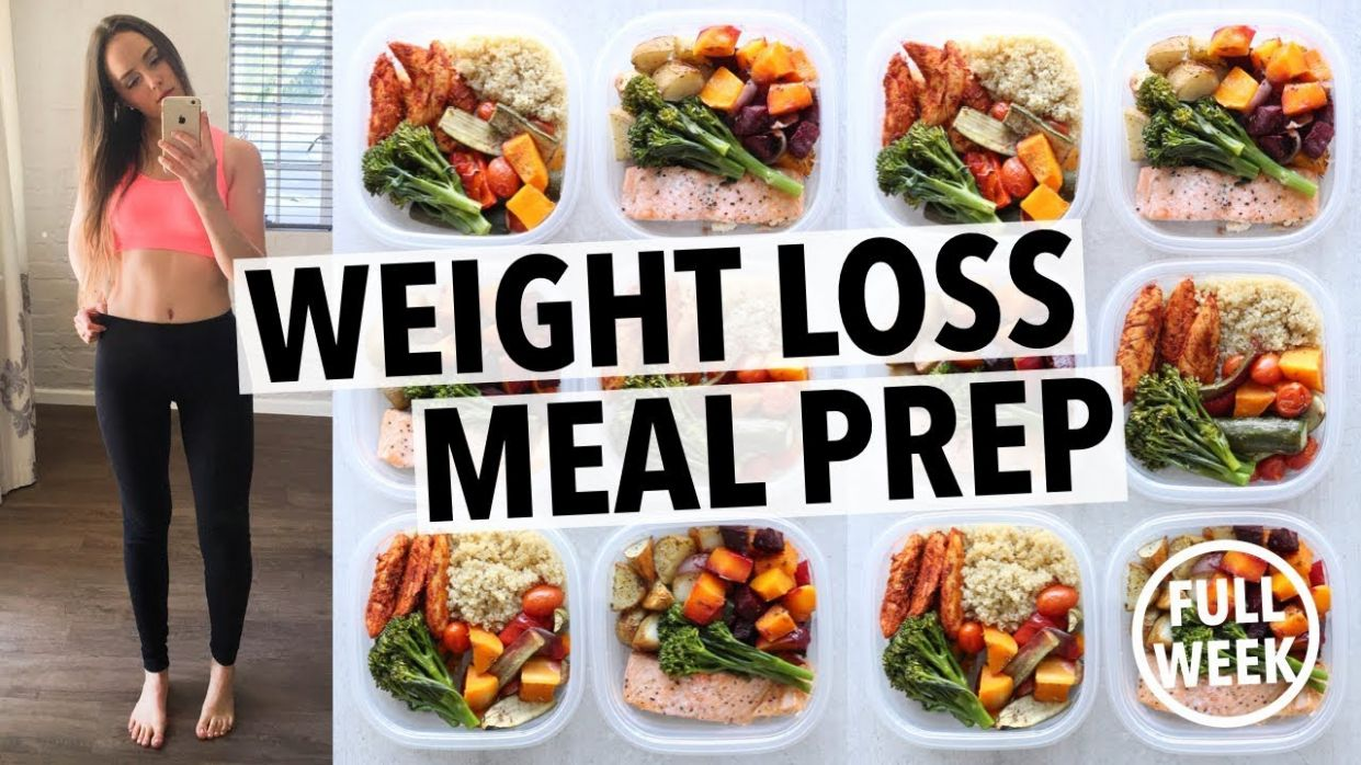 WEIGHT LOSS MEAL PREP FOR WOMEN (122 WEEK IN 122 HOUR) - Healthy Recipes For Weight Loss Youtube