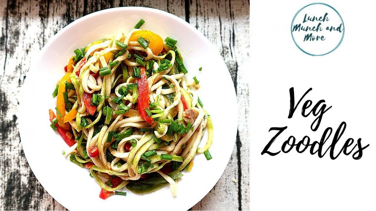 Weight loss Recipe | Keto /Paleo | Vegetable Zoodles | Zucchini ..