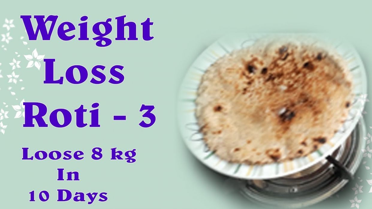 WEIGHT LOSS ROTI- LOSE 8 KG in 8 DAY/how to make multigrain roti ..